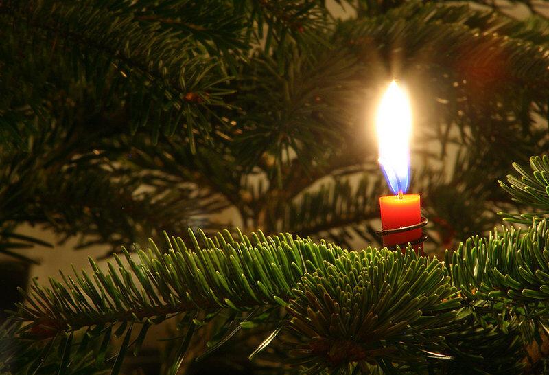 weihnachtencandle